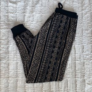 Buttery soft Aztec joggers